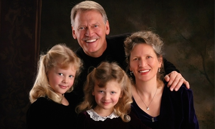 Accent Photography - Multiple Locations: $70 for a Family Portrait Session and Print Package from Accent Photography in Plymouth ($395 Value)
