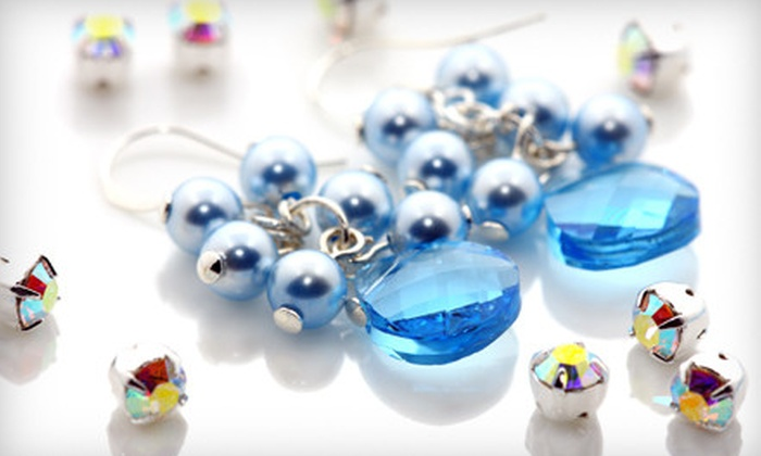 Wicks & Stones - Downtown Wyandotte: $39 for Earring-Making Class Including Three Take-Home Pairs at Wicks & Stones in Wyandotte ($80 Value)