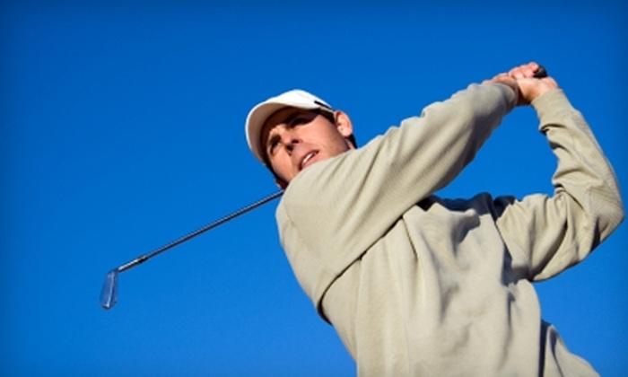 River Oaks Golf Range - West Jordan: $18 for Four Large Buckets of Range Balls at River Oaks Golf Range in Sandy ($36 Value)