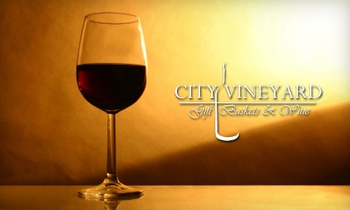 City Vineyard - Chelsea: $10 for Four Tickets to Friday-Night Tasting Event at City Vineyard ($20 Value)