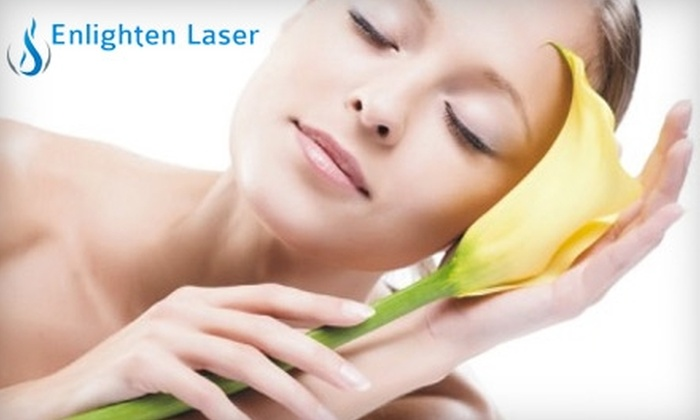 Enlighten Laser Services - Multiple Locations: $95 for Six Laser Hair-Removal Treatments at Any of Enlighten Laser Services' Three Locations (Up to $450 Value)