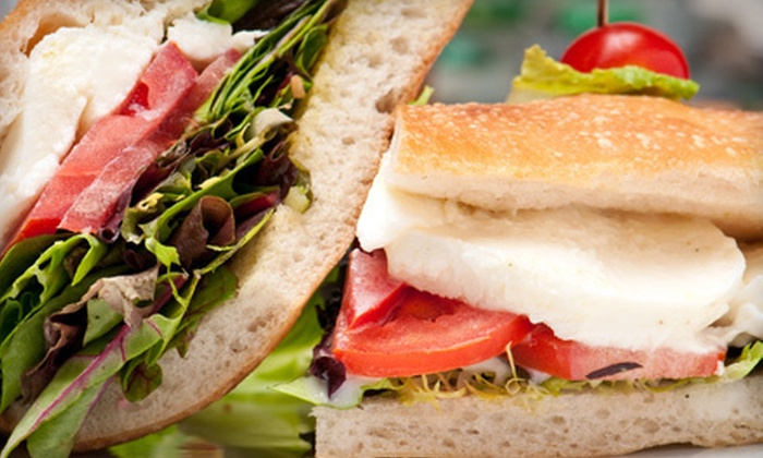 Back Yard Kitchen - Cow Hollow: Organic Sandwiches or Salads, Snacks, and Drinks for Two or Four at Back Yard Kitchen (Up to 57% Off)