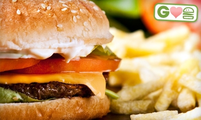 Carolina Burger Company - Mayfair: $5 for $10 Worth of Burgers, Drinks, and More at Carolina Burger Company in Winter Haven