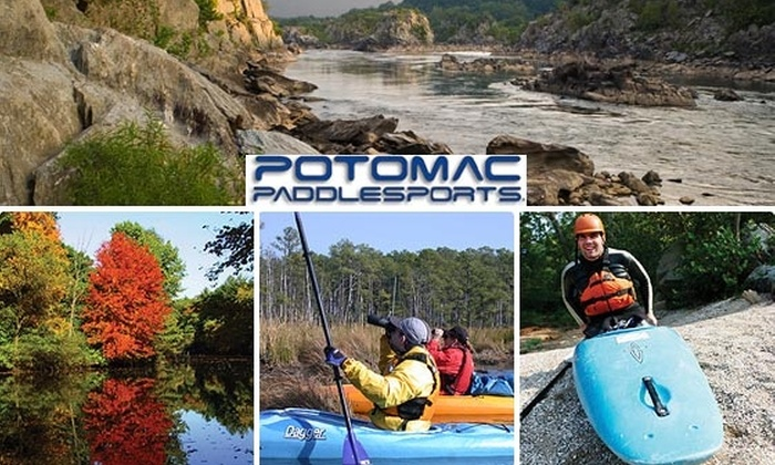 Potomac Paddlesports - Washington DC: $49 for a Beginner's Discover the Potomac Kayaking Class at Potomac Paddlesports ($98 Value)