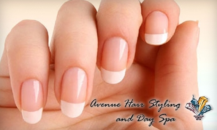 Avenue Hair Styling and Day Spa - Downtown: $25 for $50 Worth of Nail Services at Avenue Hair Styling and Day Spa