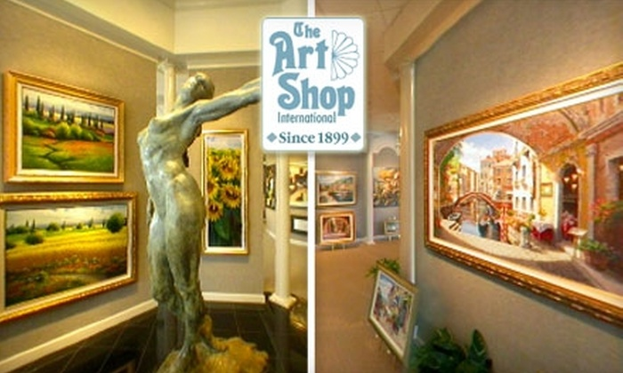The Art Shop - Starmount Forest: $50 for $125 Worth of Custom Framing at The Art Shop