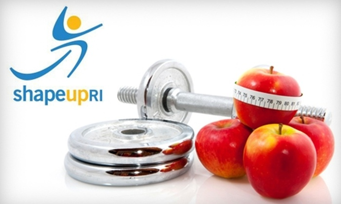Shape Up RI: $10 for Shape Up RI Exercise and Weight-Loss Challenge Registration ($20 Value)
