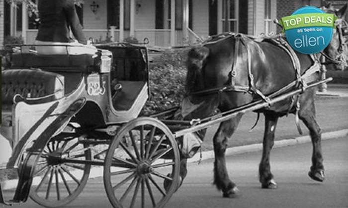Up To 52 Off Carriage Tours Carriage Tours Of Savannah Groupon