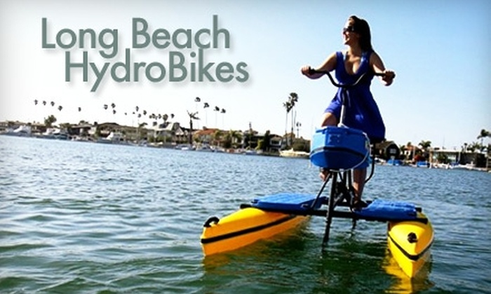 Long Beach Hydrobikes - Belmont Shore: $10 for a One-Hour Hydrobike Rental at Long Beach Hydrobikes ($20 Value)