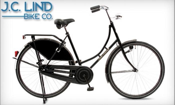 J.C. Lind Bike Co. - Near North Side: $499 for Dutch Oma Fiets Bike from J.C. Lind Bike Co. ($900 Value)