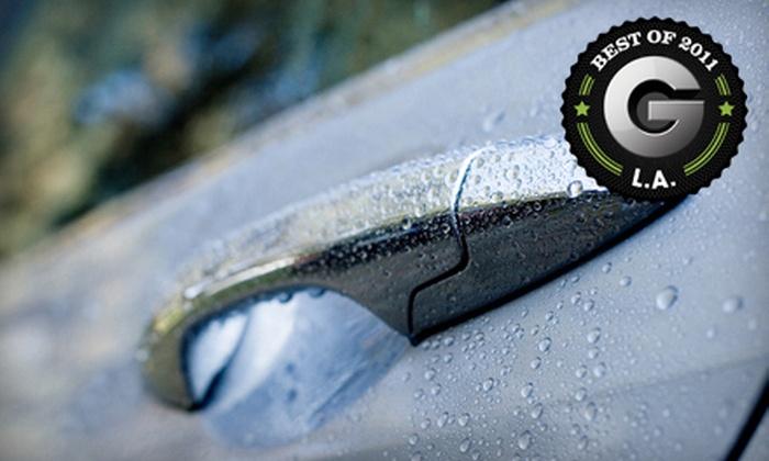 Lakeside Car Wash - Burbank: $11 for a Combo #1 Car-Wash Package at Lakeside Car Wash in Burbank ($22 Value)
