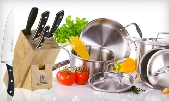 The Cookware Centre - Centretown - Downtown: $20 for $40 Worth of Cookware and More or $169 for a J.A. Henckels Six-Piece Knife-Block Set ($399 Value) at The Cookware Centre