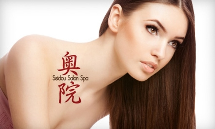 Seidou Salon and Spa - Orono: $32 for a 60-Minute Massage ($65 Value) or $149 for a Brazilian Blowout ($299 Value) at Seidou Salon and Spa in Orono