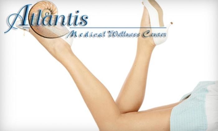 Atlantis Medical Wellness Center - Calverton: $150 for Three Laser Hair-Removal Sessions at Atlantis Medical Wellness Center ($800 Average Value)
