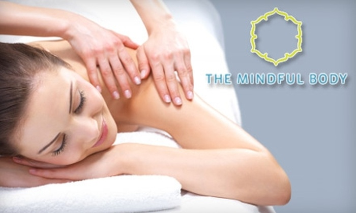 The Mindful Body - Transit Village: $47 for a 75-Minute Massage Treatment and Choice of Aromatherapy at The Mindful Body in Boulder ($105 Value)