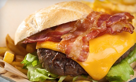2 Burgers, 1 Appetizer, and 2 Domestic Draft Beers or Sodas on Sun.-Wed. - Sweet Mel's in Gainesville