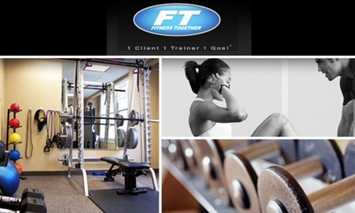 Fitness Together - Multiple Locations: $85 for Three Personal Training Sessions from Fitness Together ($225 Value)