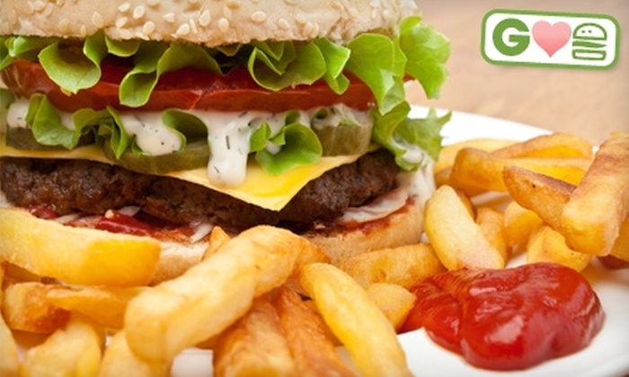 Bull & Bones Brewhaus & Grill - Blacksburg: $5 for a Burger at Bull & Bones Brewhaus & Grill (Up to $9.29 Value)