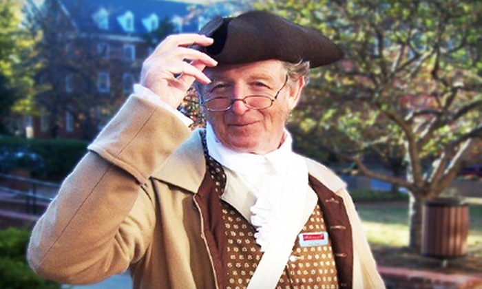 Annapolis Tours by Watermark - Annapolis: History-Based Walking Tour for Two or Four from Annapolis Tours by Watermark