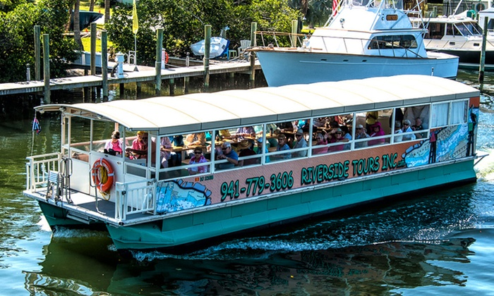 Riverside Tours - Riverside Tours Inc: Manatee River Boat Tour for One, Two, or Four from Riverside Tours (Up to 36% Off)