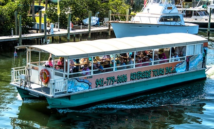 Manatee River Boat Tour for One, Two, or Four from Riverside Tours (Up to 51% Off)