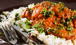 Taste of India: $12 for $20 Worth of Indian Food for Dine-In or Takeout from Taste of India