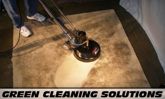 Green Cleaning Solutions - Des Moines: $69 for a Two-Room Carpet Cleaning Plus DuPont Teflon Advanced Stain Protection from Green Cleaning Solutions (Up to $180 Value)