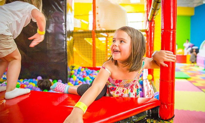 Just 4 Fun - The Shops at Sunset Place: One-Day Admission Pass for Two or Four Kids at Just 4 Fun (Up to 47% Off)