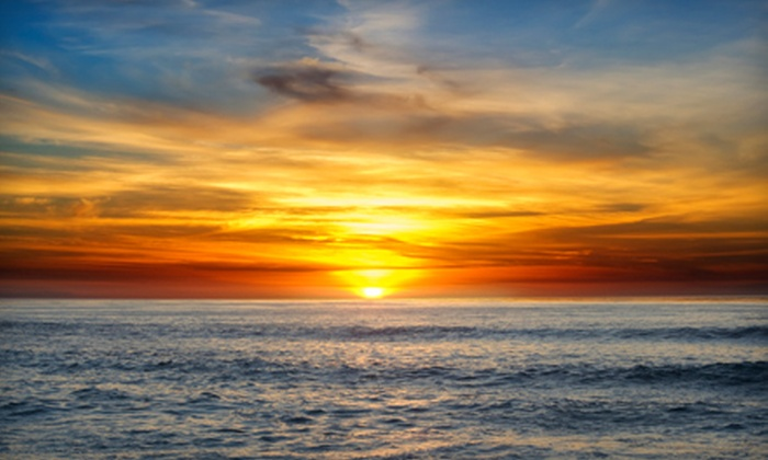 San Diego Whale Watch - Mission Bay Park: $14 for a Sunset Cruise from San Diego Whale Watch (Up to $31 Value)