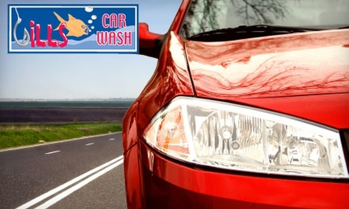 Gill's Car Wash - Multiple Locations: $19 for Three Great White Premium Washes at Gill's Car Wash ($39 Value)