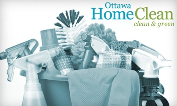 Ottawa Home Clean - Ottawa: $50 for Three Man-Hours of Cleaning from Ottawa Home Clean