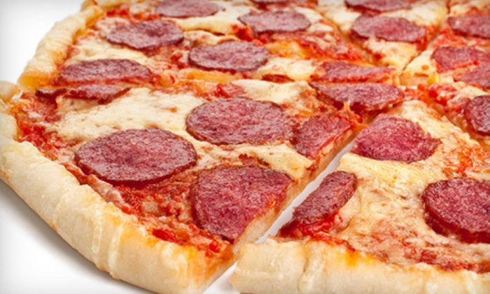 Johnny's Pizza  - Northeast Meridian: Pizza and Breadsticks at Johnny's Pizza in Meridian (Half Off). Two Options Available.