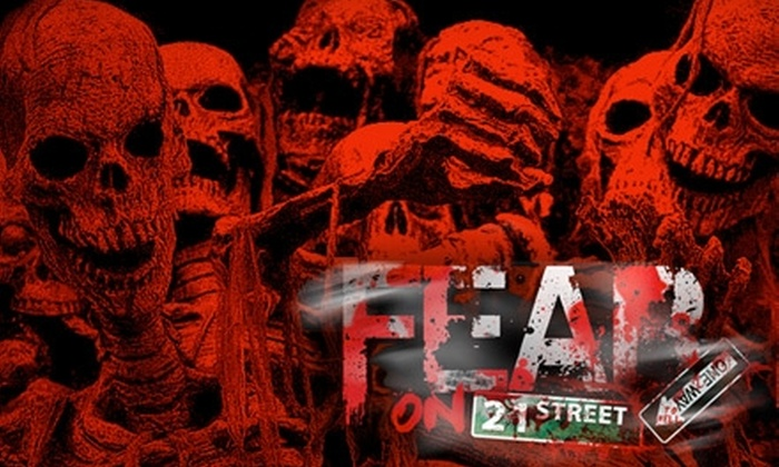 Fear on 21st Street - Flatiron District: $20 for a Skip-the-Line Ticket to Fear on 21st Street ($50 Value)
