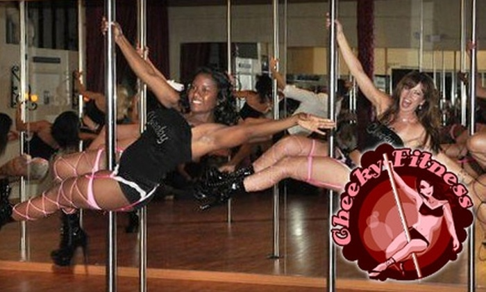 Cheeky Fitness - Royal Palm Beach Business Park: $25 for Two Intro Pole-Dancing Classes (Up to $60 Value) or  Five Pole Conditioning Classes (Up to $90 Value) at Cheeky Fitness