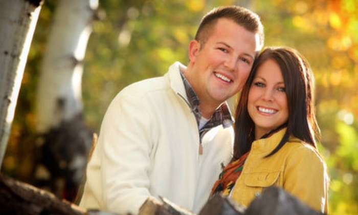 Hazen Studios - East View: $79 for Couples or High School Senior Photography Package from Hazen Studios in Kaysville (Up to 83% Off)