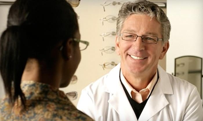 eyecarecenter - Ballantyne West: $45 for an Eye Exam and $100 Worth of Eyewear at eyecarecenter ($190 Value)
