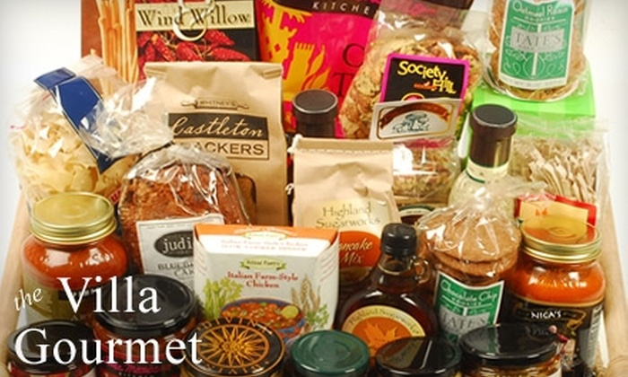 Villa Gourmet - Downtown / Harbor / Post Road South: $20 for $40 Worth of Specialty Foods, Gift Baskets & Kitchen Accessories at Villa Gourmet In Milford