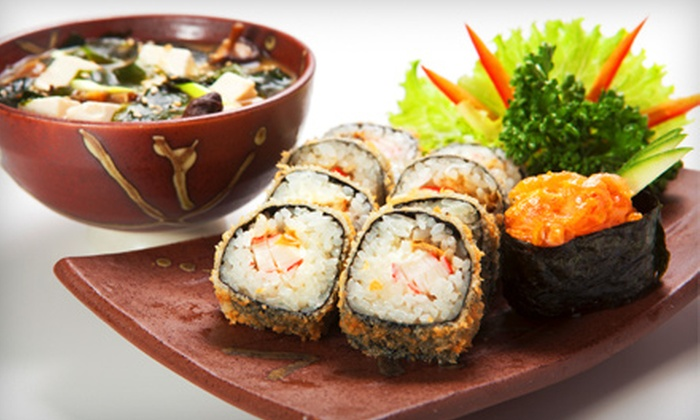 Woomi Garden - Wheaton - Glenmont: $20 for $40 Worth of Japanese Cuisine and Drinks at Woomi Garden in Wheaton