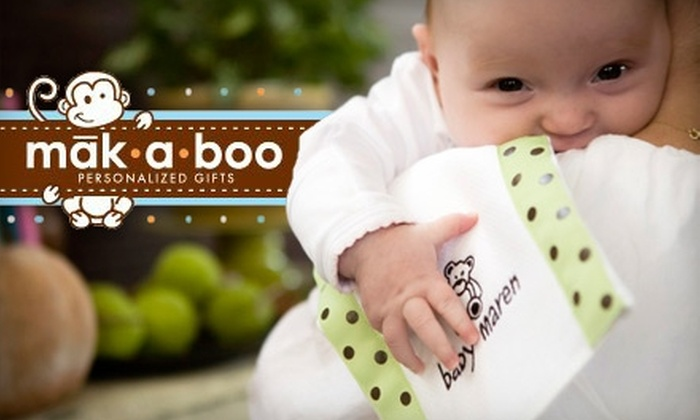 Makaboo: $15 for $30 Worth of Personalized Children's Clothing and Gifts at Makaboo