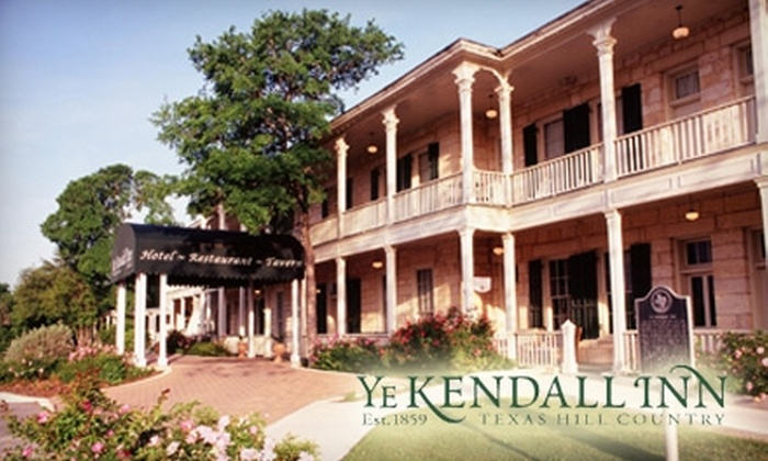 Ye Kendall Inn - Downtown Boerne: One-Night Stay at Ye Kendall Inn in Boerne. Choose Between Two Options.