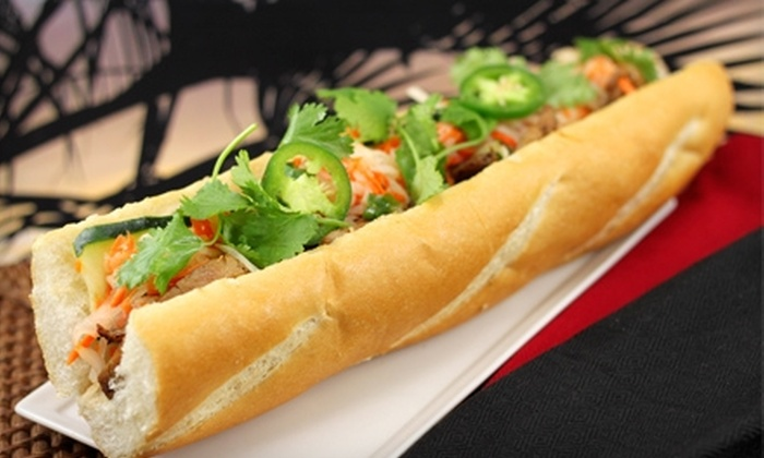 Mandoline Grill - Multiple Locations: $5 for $10 Worth of Vietnamese Fare from Mandoline Grill