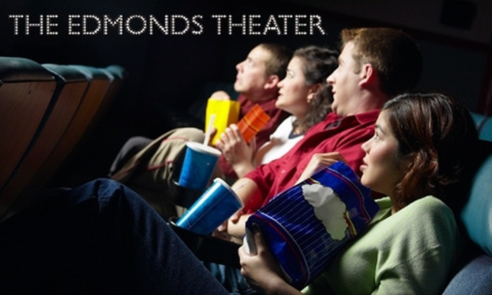 Edmonds Theater - Downtown Edmonds: $10 for Two Adult Tickets and One Large Popcorn at the Edmonds Theater