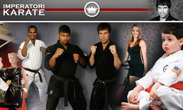 Imperatori Karate - Sandy Springs: $45 for an Unlimited Month of Classes at Imperatori Karate