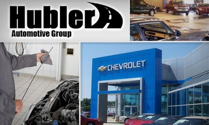 Hubler Chevrolet Indianapolis - Perry: $17 for a 5-Quart Oil Change and 27-Point Inspection at Hubler Chevrolet Indianapolis ($34 Value)