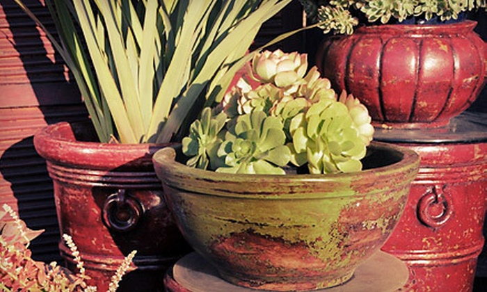 Jackalope Pottery - North Hollywood: $25 for $50 Worth of Home and Garden Accessories at Jackalope Pottery in North Hollywood