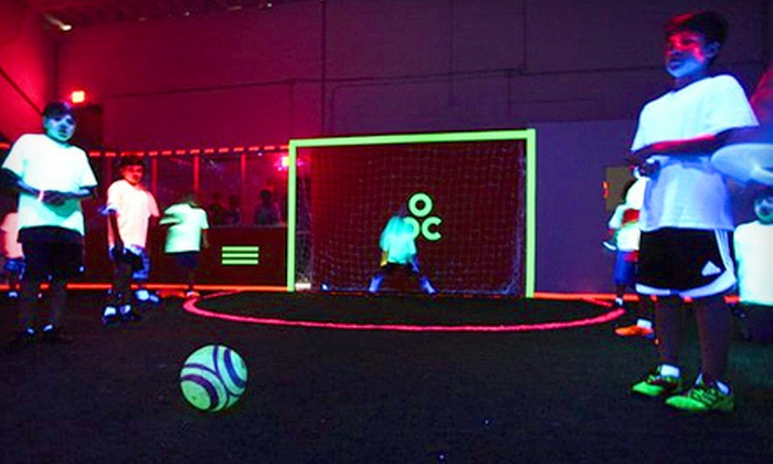 Revo Soccer - Little River,Little Haiti,North Miami: One or Three One-Hour Glow Soccer Sessions or Weeklong Summer Soccer Camp at Revo Soccer (Up to 65% Off)
