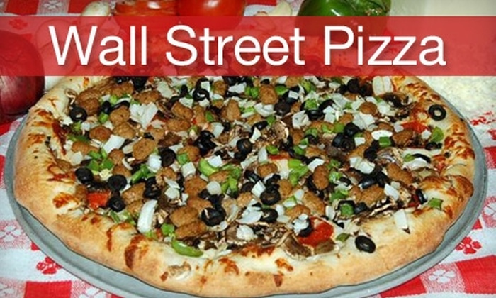 Wall Street Pizza 205 - Powellhurst - Gilbert: $12 for $25 Worth of New York–Style Pizza, Drinks, and More at Wall Street Pizza 205