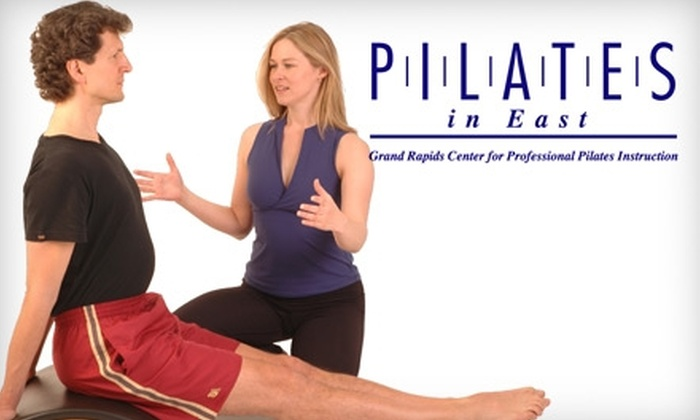 Pilates in East - East Grand Rapids: $35 for Five Mat Classes at Pilates in East Grand Rapids