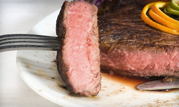 Sandite Billiards and Grill - Sand Springs: Steak Dinner with Appetizers for Two or Four at Sandite Billiards and Grill