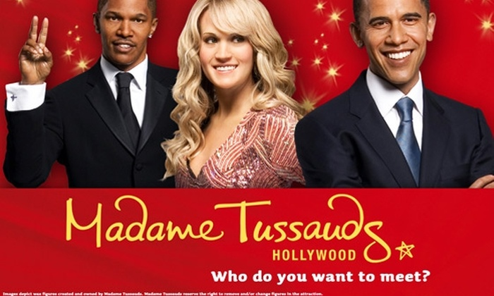 Madame Tussauds Hollywood - Hollywood: $12 Ticket to Madame Tussauds Hollywood (Up to $25 Value)